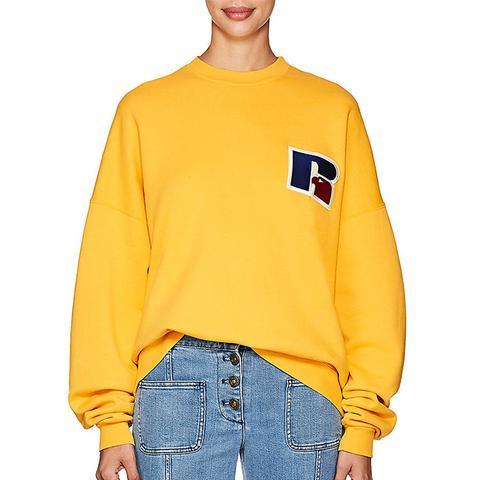 x Russell Logo Cotton Terry Sweatshirt