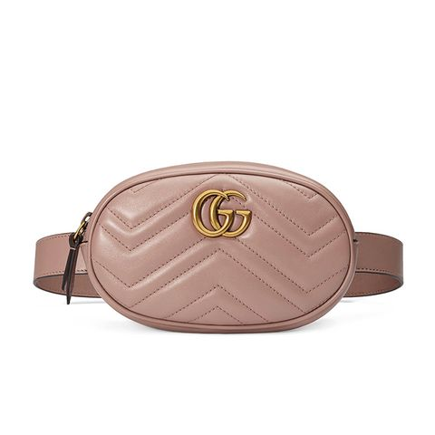 GG Marmont Matelassé Belt Bag