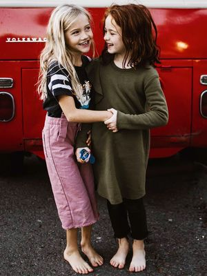 These Zara Kids Models Are Best Friends IRL, and We Are Not Okay
