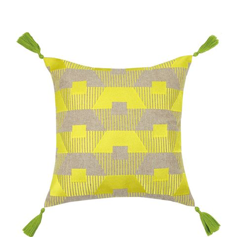 Torrance Neon Embroidered Pillow