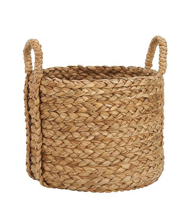 Pottery Barn Beachcomber Round Handled Baskets