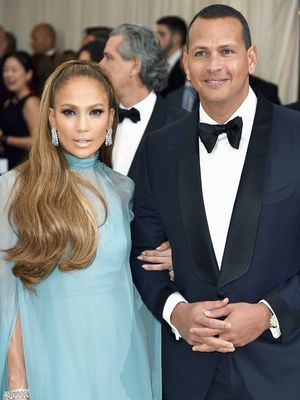 J.Lo and Alex Rodriguez Just Landed the Chicest Cover of 2017