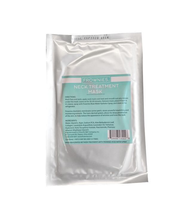 Frownies Neck Treatment Mask