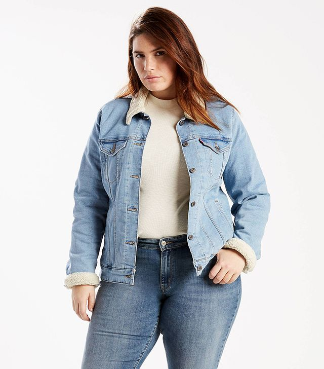 Levi's Sherpa Trucker Jacket Plus