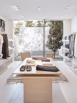 The New Bassike Store Feels Like You're Shopping in Someone's Wardrobe