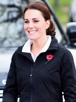 How to Do Leggings and Sneakers When You're Kate Middleton