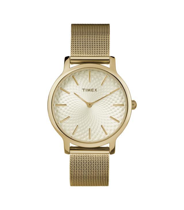 Timex Metropolitan Gold Mesh Watch