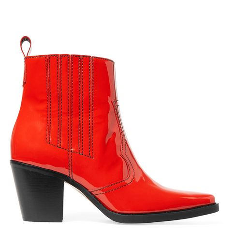 Callie Patent Boots