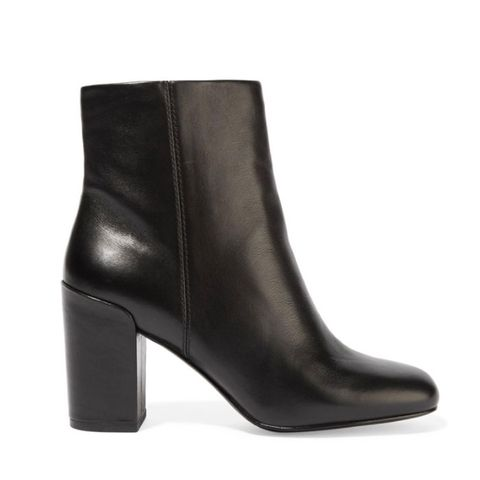 Hana Leather Ankle Boots