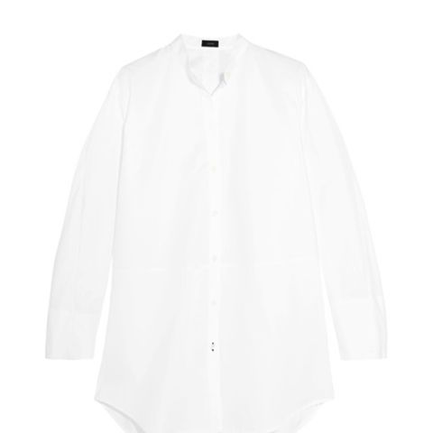 Lenno Oversized Cotton-Poplin Shirt