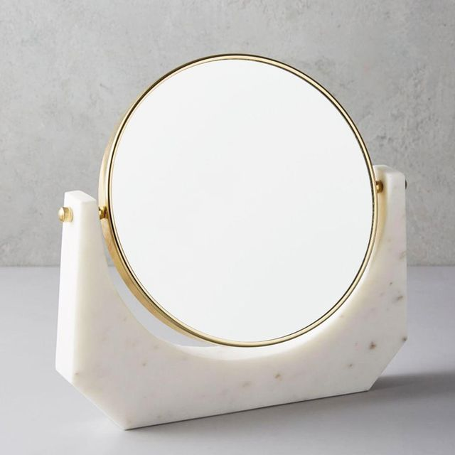 Your Best Friend Will Love These 21 Gift Ideas: West Elm Marble Vanity Mirror