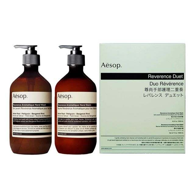 Your Best Friend Will Love These 21 Gift Ideas: Aesop Reverence Aromatique Hand Care Duo