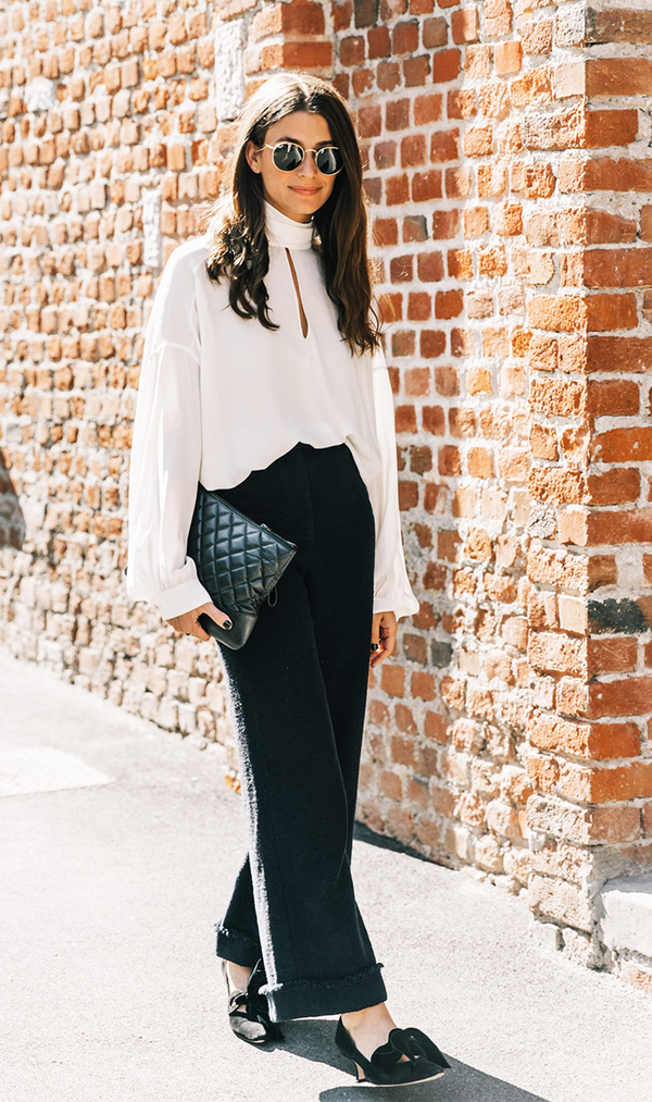 Copy and paste this outfit when you run out of things to wear to work.
