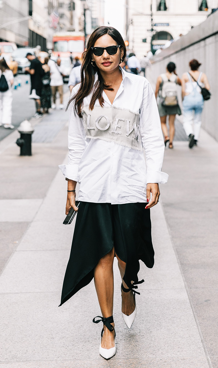 12 Outfits That Prove Black and White