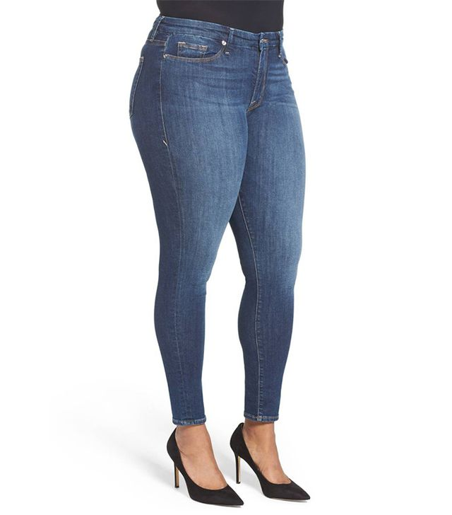 Women's Good American Good Legs High Rise Skinny Jeans