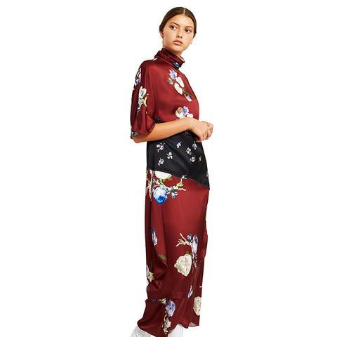 Dilona Floral Print Dress