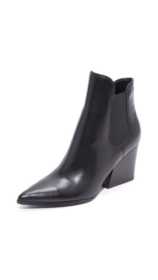 Finley Leather Booties