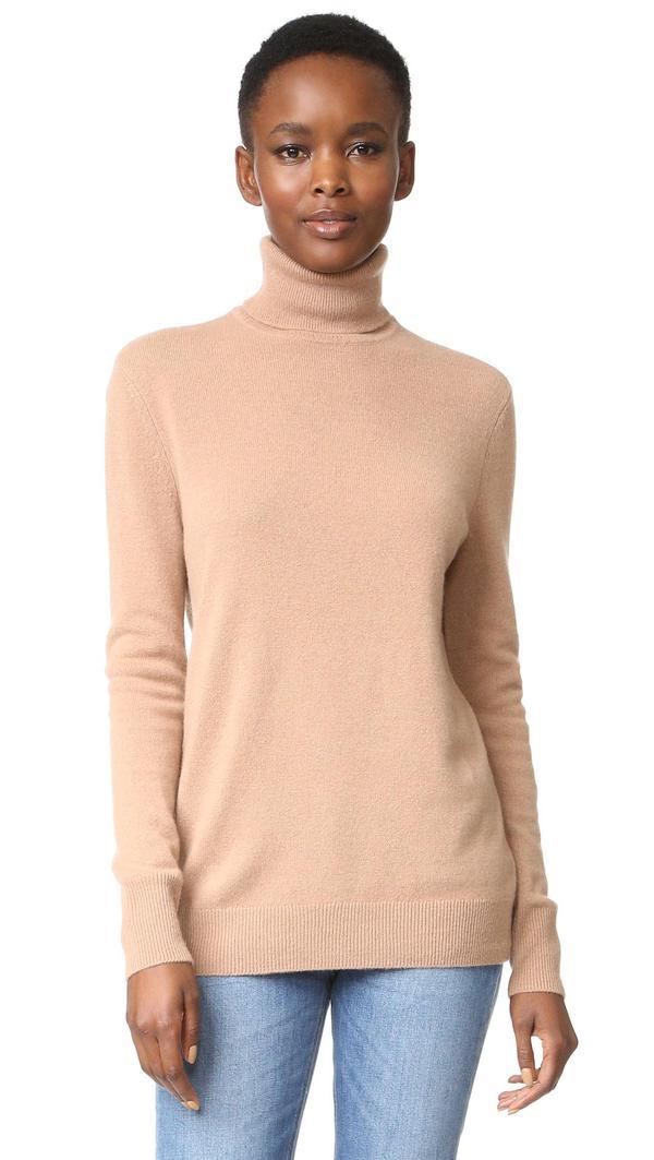 Oscar Turtleneck Cashmere Sweater