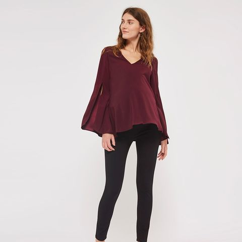 Maternity Knit Side Ponte Leggings