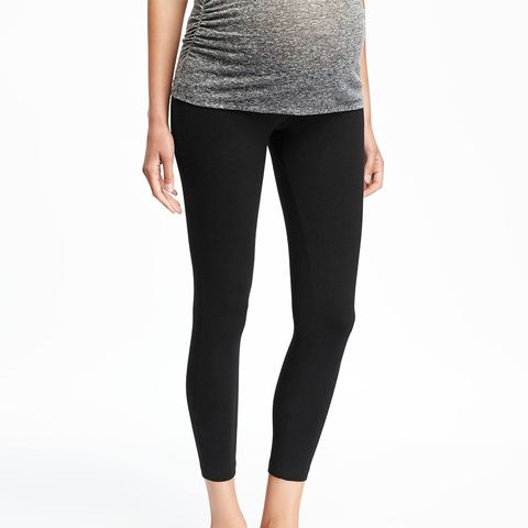 Maternity Low-Rise Leggings