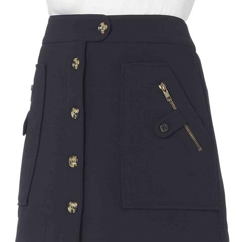 Monroe Cargo Skirt in Navy