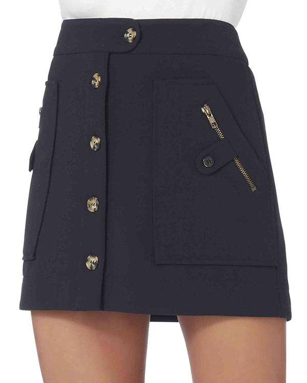 Monroe Cargo Skirt Navy 8