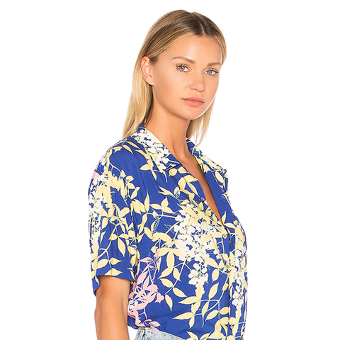Hawaiian Shirt in Blue