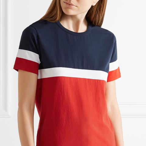 Le Garçon Striped Cotton-Jersey T-Shirt
