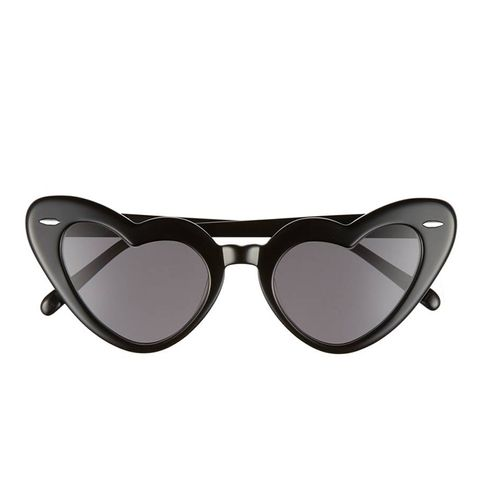 J'Adore 46Mm Heart Sunglasses