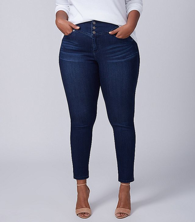 Lane Bryant High Rise Super Stretch Skinny Jeans