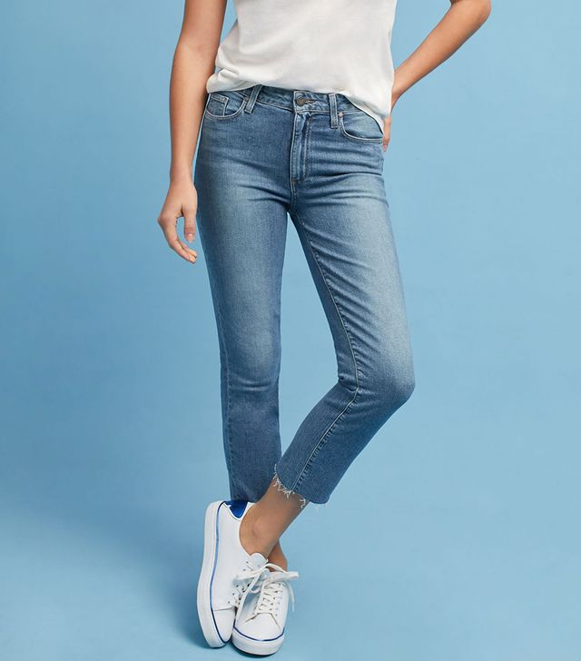 Jacqueline High-Rise Straight Petite Jeans