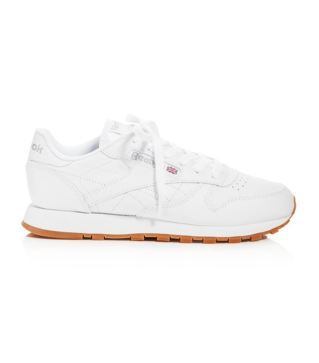 Reebok Classic Leather Lace Up Sneakers