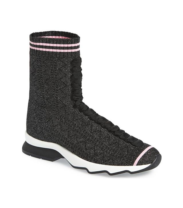 Rockoko High Top Sock Sneaker