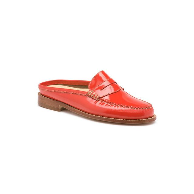 G.H. Bass & Co. Wynn Patent Leather Mule Weejuns - Poppy