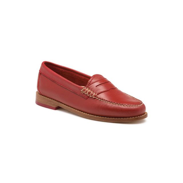 G.H. Bass & Co. Whitney Tumbled Leather Weejuns - Spice