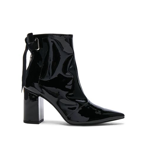 Patent Leather Karli Boots