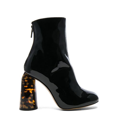 Patent Leather Tempo Boots