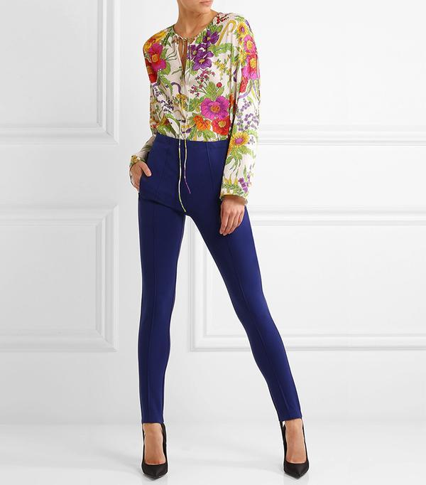 Balenciaga Stretch-Jersey Leggings