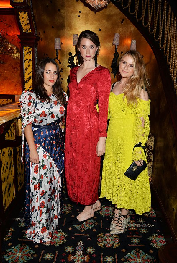 WHO: Hannah Almassi, Hannah McGhee and Amy Lawrenson