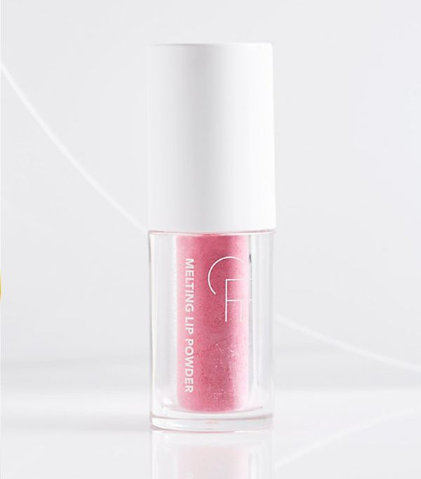 Free People beauty: CLE Melting Lip Powder in Barbie Pink