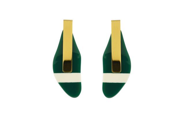 Marni Enamel and Resin Earrings