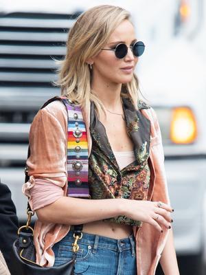 Jennifer Lawrence's $68 Skinny Jeans Are So Flattering
