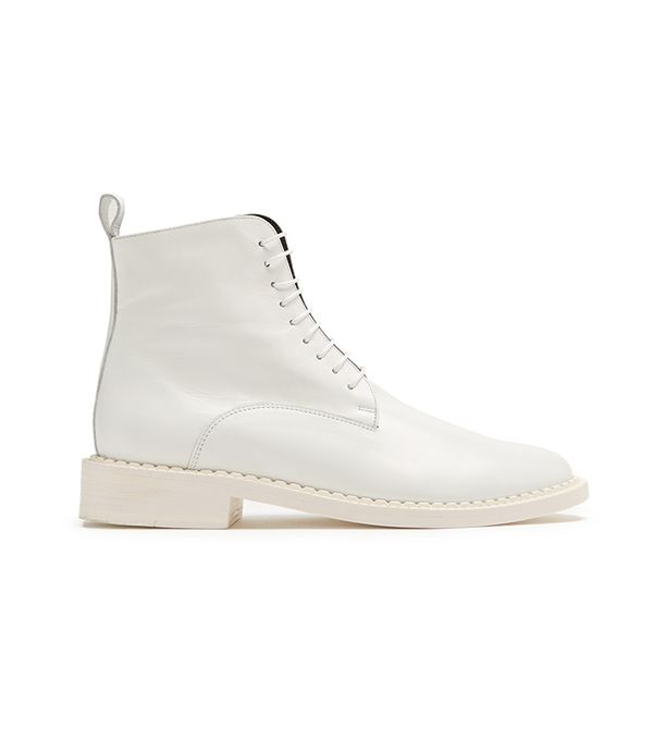 Jacen leather ankle boots