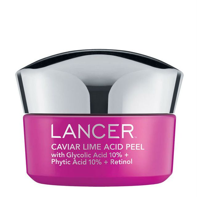 Chemical face peels: Lancer Caviar Lime Acid Peel