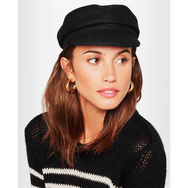 Yes, You Can Look Cool Wearing a Baker Boy Hat—Here's How, Isabel Marant Evie Wool-Blend Felt Cap