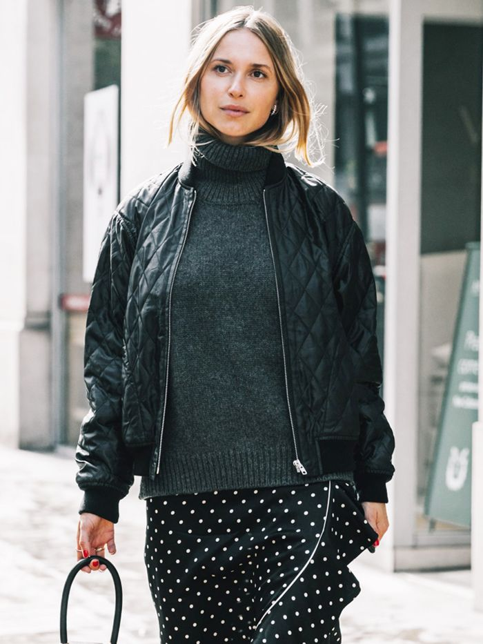 London Fashion Week Spring 2018 Street Style
