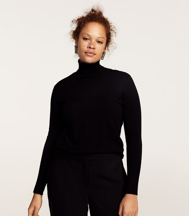 Violeta by Mango Turtleneck Sweater