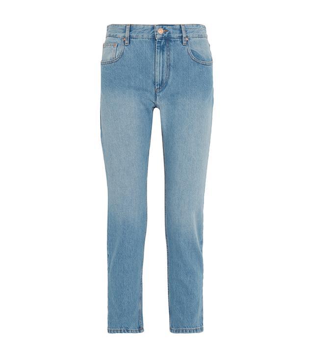 Cliff High-rise Straight-leg Jeans