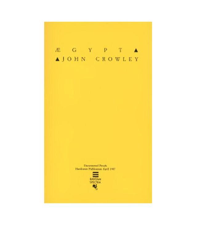 John Crowley Aegypt