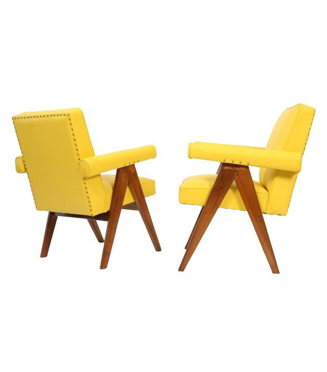 Pierre Jeanneret Set of 2 Senate Committee Chairs